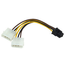 Cable De Corriente Para Tarjetas De Video Pci Express 6 Pin