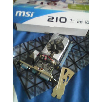 Tarjeta De Video Msi Nvidia Geforce 210 1gb