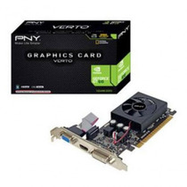 Tarjeta Video Gddr3 1gb Pny Vcggt610xpb Nvidia Geforce +c+