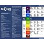 Alkaline Alimentos Y Gráfico Ph (8x11) Impreso En La Hoja De