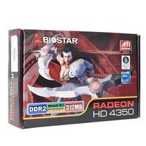Tarjeta De Video Biostar Radeon Hd 4350, 512mb Hdmi/dvi