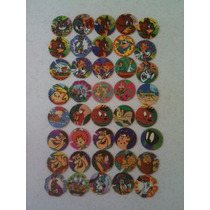 Tazos 1995 Varios Tom Y Jerry, Picapiedra, Marvin,droopy Mas