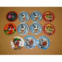 Lote De Tazos Super Funkipunky Mega Silver Stamp