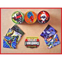 Tazos Funki Punky De Colección Lote De 54 + 5 Tazos Marvel