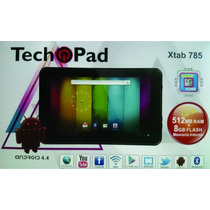 Tablet Techpad Xtab785 Quad Core Android 4.4-negro