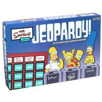 Jeopardy Juego Simpsons Edición