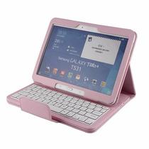 Funda Y Teclado Bluetooth Para Samsung Galaxy Tab 4 10.1