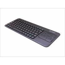 Teclado Inalámbrico Con Touchpad Integrado Logitech K400