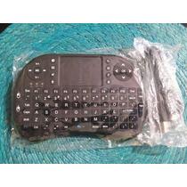 Mini Teclado-mouse Wireless 2.4g Con Touchpad Para Pc ,andr