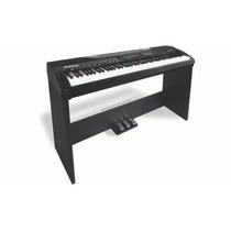Base Para Piano Alesis Coda Piano Stand De 3 Pedestales
