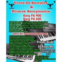 Samples & Ritmos Pa 600,pa900 & Ritmos Pa 50