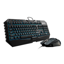 Kit Teclado Y Mouse Gamer Gear Cm Storm Octane Led