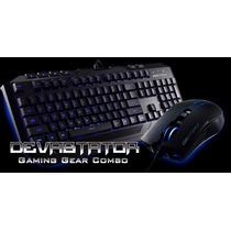 Devastator Gaming Kit Teclado Y Mouse Cooler Master Storm
