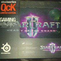 Steelseries Qck Starcraft 2 Heart Of The Swarm Logo.