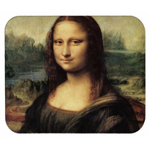 Mona Lisa De Leonardo Da Vinci Arte Mousepad