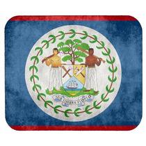 Bandera De Belice Mouse Pad