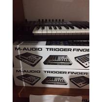 Trigger Finger Pro M Audio Midi Sintetizador Secuenciador