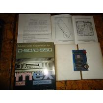 Roland D550 D50 Expansion Sintetizador Interface Midi Audio