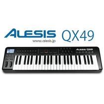 Alesis Qx49 Teclado Controlador Midi Usb Profesional Ableton