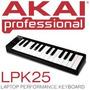 Akai Lpk25 Controlador Midi Para Software De Dj O Produccion