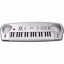 Teclado Musical Con Efectos De Auto Grabacion Y Aprendizaje.