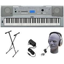 Yamaha Dgx230 76-key Digital Piano Paquete Con El Soporte De