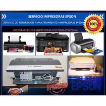 Servicio Y Reparación Impresoras Epson- Cabezal T-50,t1110