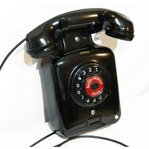 Teléfono Antiguo Alemán Siemens De Baquelita De Los 50´s