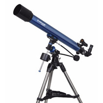 Telescopio Meade Polaris Refractor 80x900 Mm Ecuatorial
