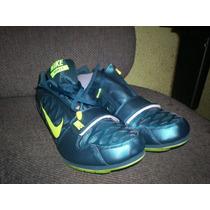 Spikes Atletismo Salto Longitud Zoom Lj 4,talla 30cm, Nike