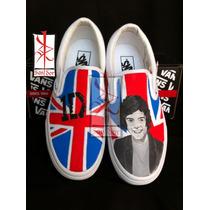 Tenis One Direction Pintados A Mano Converse O Vans