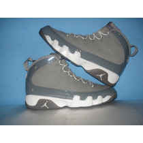 Nba Jordan Air Jordan Ix Retro Cool Grey En Caja 27.5mex