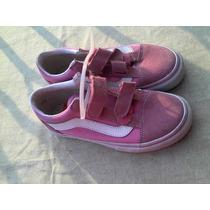 Vans Para Dama Color Rosa Nuevos Originales