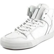 Supra Vaider Hombres Del Patín De Cuero De Zapatos
