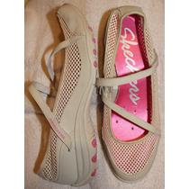 Skechers Ballerina / Flat 27mx 100% Originales Y Nuevos