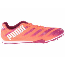 Spikes Tenis Puma Atletismo Velocidad Talla 22.5 A 24.5
