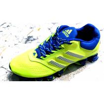 Tenis Adidas Mega Bounce Originales Amarillo Neon Y Azul