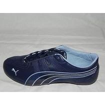 Tenis Puma Etoile Piel Azul Dama Número 4!!! Hm4