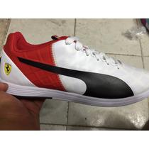 Tenis Puma Ferrari Evospeed 1.4 Blanco-rojo Agosto 2015