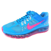 Mujer Nike Air Max Capsula 360 Runnig Correr Blue Pink Gym