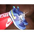 Tenis Nike Tipo America Azul/amarillo
