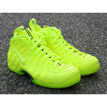 Tenis Nike Air Foamposite Pro Volt Blacke