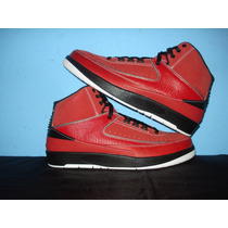 Nba Air Jordan Retro Ii Qf Red Candy Pack 27.5mex En Caja