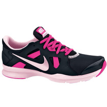 Mujer Tenis Nike Un Season Training Black Pink Running Gym
