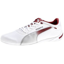 Tenis Puma Touring Cat Mercedes Amg Casual Blanco Plata Gy0