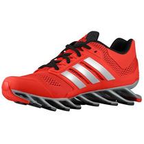 Tenis Adidas Springblade Originales Drive Rojo Plata Running
