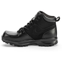 Botas Caminata Nike Air Acg Manoa Piel-tela Color Negro Gym