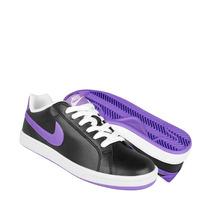 Nike Tenis Dama Atleticos Y Urbanos 424256007 2-5 Piel Negro