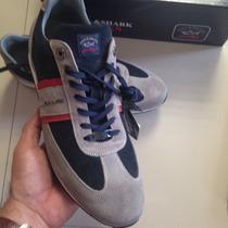 Zapatos Tenis Paul Shark Nuevos No Ferragamo No Gucci