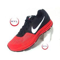 Tenis Nike Pegasus +30 Rojo Con Negro A Sólo $1289